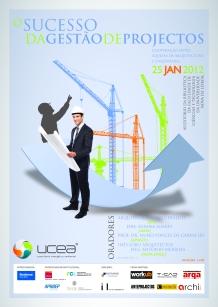 Cartaz do Workshop: O Sucesso da Gestão de Projectos