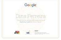 Certificado de Curso de MKT Digital Google