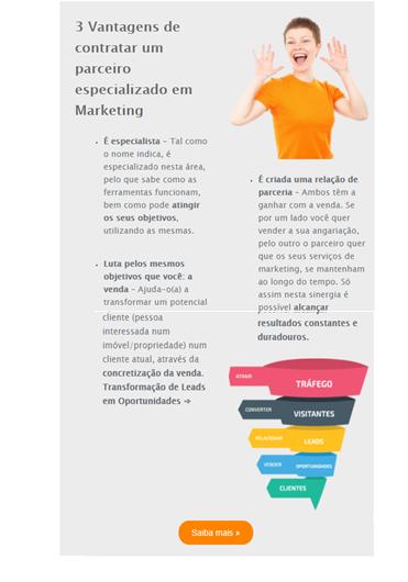Exemplo de Email Marketing