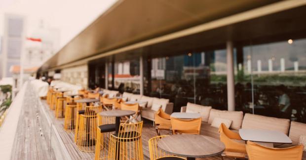 esplanada de bar/restaurante