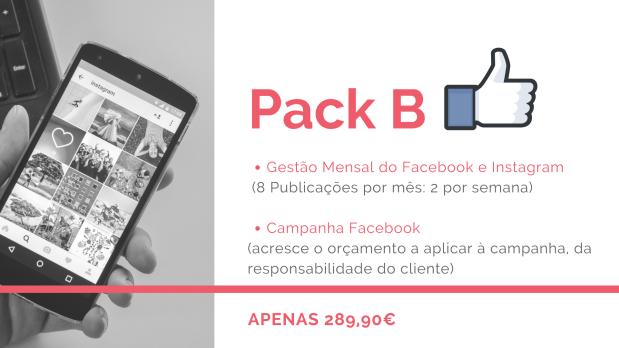 Gestão Mensal do Facebook e Instagram + Campanha Facebook