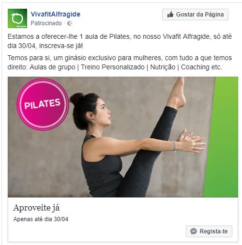 Campanha Facebook - vivafit