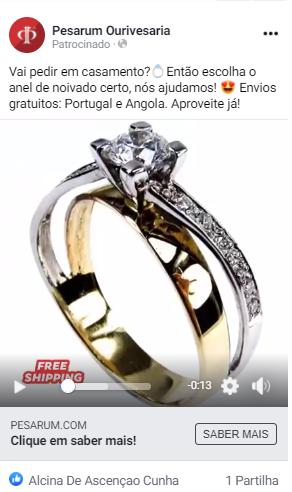 facebook ads ourivesaria