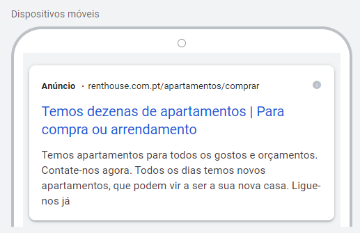 google ads para imobiliária